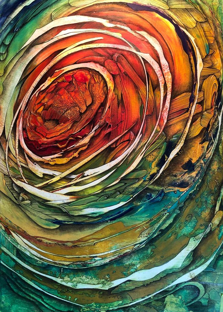 'Vortex #1' Painting